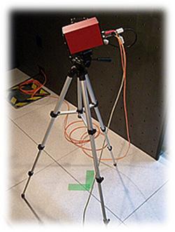 電波暗室用ビデオシステム